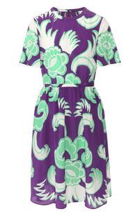 Шелковое платье Valentino 9078908