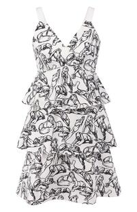 Хлопковое платье Chapurin 9066077