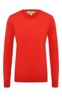 Шерстяной пуловер Burberry 6727769