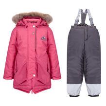 Комплект куртка/полукомбинезон Kvartet, цвет: малиновый Квартет 11027048