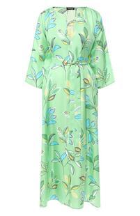Шелковое платье Kiton 9078047