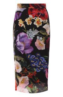 Шелковая юбка Dolce&Gabbana 8819320
