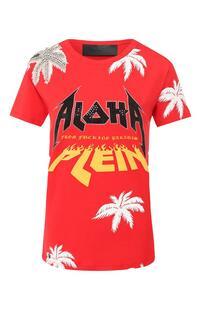 Хлопковая футболка PHILIPP PLEIN 8763985