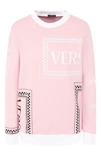 Хлопковый свитшот Versace 8709077