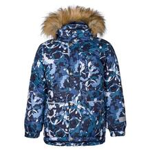 Куртка Kisu, цвет: синий/белый 10980686