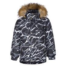 Куртка Kisu, цвет: черный/белый 10980920