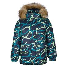 Куртка Kisu, цвет: зеленый/синий 10980182