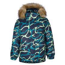 Куртка Kisu, цвет: зеленый/синий 10980464
