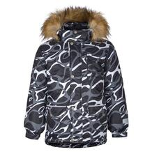 Куртка Kisu, цвет: черный/белый 10980470