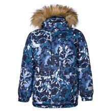 Куртка Kisu, цвет: синий/белый 10980170