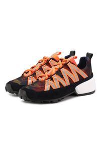 Комбинированные кроссовки Pierre Hardy 8623621