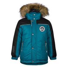Куртка Kisu, цвет: бирюзовый 10980722