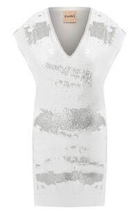 Платье с пайетками NUDE 8573242