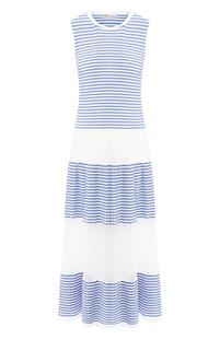 Хлопковое платье REDVALENTINO 8578926