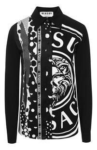 Блузка с принтом Versus Versace 8442349