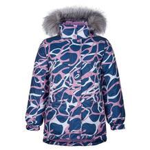 Куртка Kisu, цвет: синий/розовый 10980278
