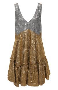 Платье с оборкой No. 21 8300116