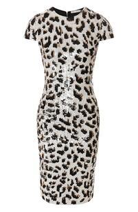 Платье с пайетками Alice + Olivia 8305492