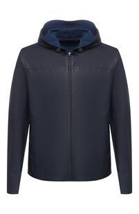 Кожаная двусторонняя куртка Loro Piana 8185855