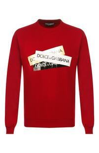 Хлопковый свитшот Dolce&Gabbana 8064678