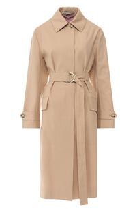 Хлопковое пальто Stella Mccartney 8040934