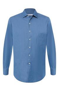 Джинсовая рубашка Loro Piana 8081947