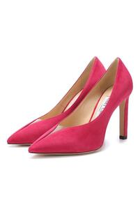 Замшевые туфли Baker 100 Jimmy Choo 7697654