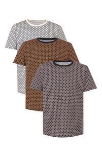 Комплект из трех хлопковых футболок MAISON MARGIELA 7801856