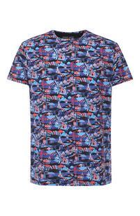 Хлопковая футболка DEREK ROSE 7723638