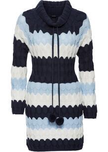 Удлиненный пуловер bonprix 261653247