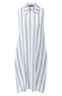 Платье в полоску Pietro Brunelli 7715945