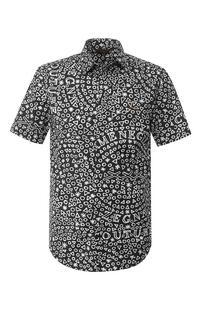 Хлопковая рубашка Zegna Couture 7569379