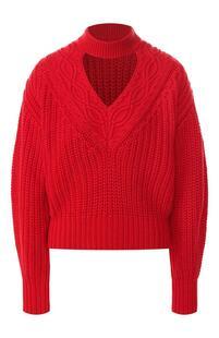 Пуловер из смеси хлопка и шерсти Self Portrait 7391747