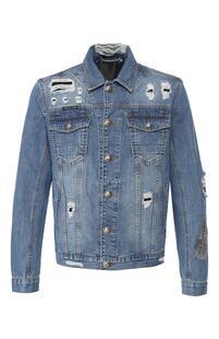 Джинсовая куртка PHILIPP PLEIN 7433838