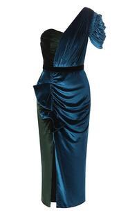 Бархатное платье Self Portrait 7391782