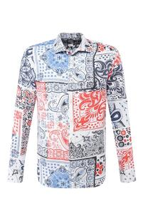 Льняная рубашка 120% LINO 7428455
