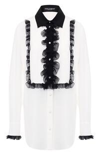 Шелковая блузка Dolce&Gabbana 7245293