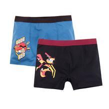 Комплект трусы 2 шт Bossa Nova Angry Birds, цвет: голубой/черный 10760327