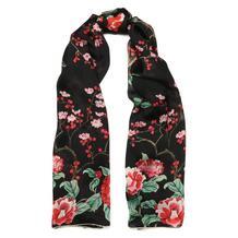 Шелковый шарф с принтом Alexander McQueen 7067549