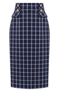 Хлопковая юбка Escada 7079330