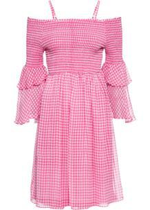 Платье с открытыми плечами bonprix 258930529