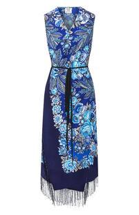 Шерстяное платье с принтом VETEMENTS 6872214
