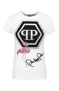 Хлопковая футболка PHILIPP PLEIN 7419096