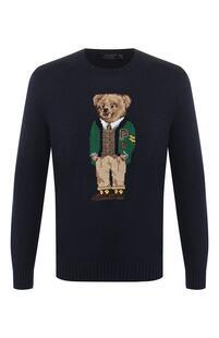 Джемпер из смеси хлопка и льна Polo Ralph Lauren 8510137