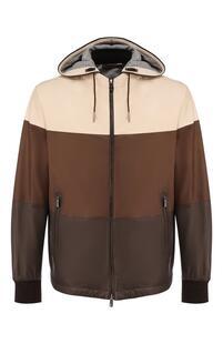 Кожаная куртка Ermenegildo Zegna 8853046