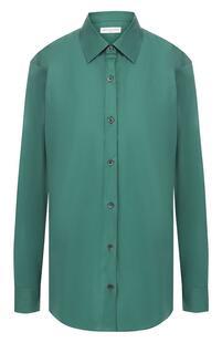 Хлопковая блузка Dries Van Noten 8848664