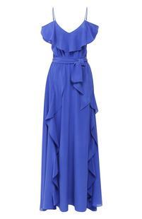 Шелковое платье-макси Lazul 6836157