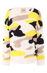 Хлопковый пуловер NUDE 8816338
