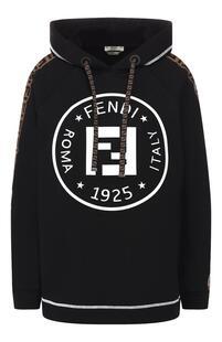 Хлопковое худи Fendi 8582888