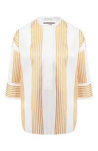 Шелковая блузка Loro Piana 8209088